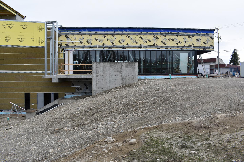 Columbia Valley Community Facility Construction Photos